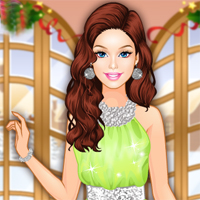 Free online flash games - Barbie Winter Prom game - Games2Dress
