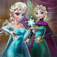 Free online flash games - Elsa Secret Transform game - Games2Dress