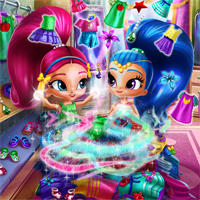 Shimmer and Shine Wardrobe Cleaning Agnesgames