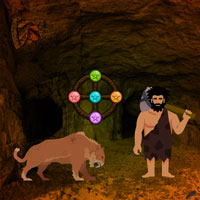 Free online flash games - Paleolithic Man Escape game - Games2Dress