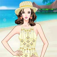 Free online flash games - Seaside Vacation game - Games2Dress