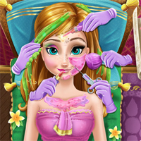 Free online flash games - Anna Real Cosmetics game - Games2Dress