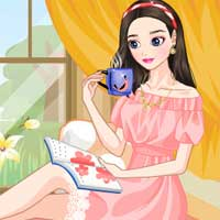Free online flash games - A Relaxing Afternoon LoliGames game - Games2Dress