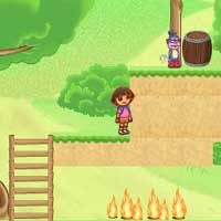 Free online flash games - Dora Great Adventure PuPuGames game - Games2Dress