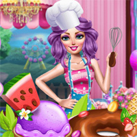 Free online flash games - Sweets Shop Prep Girlhit game - Games2Dress