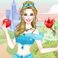 Free online flash games - Princess Looks game - Games2Dress