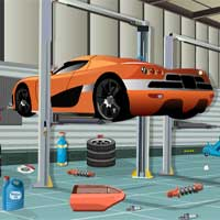 Free online flash games - KnfGame Car Workshop Escape game - Games2Dress