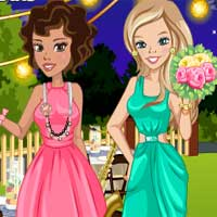 Free online flash games - Zoe And Lily Welcoming The Spring game - Games2Dress