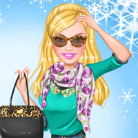 Free online flash games -  Ellie Winter Makeover game - Games2Dress