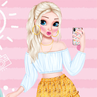 Free online flash games - Summer Selfie game - Games2Dress