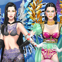 Free online flash games - Secret Fashion Show NYC game - Games2Dress