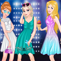 Free online flash games -  Princess EDC Vegas game - Games2Dress