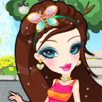 Free online flash games - Cute Bratz Doll game - Games2Dress