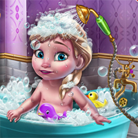 Free online flash games - Ice Queen Baby Shower Fun game - Games2Dress