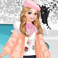 Free online flash games - Winter Down Coats Loligames game - Games2Dress