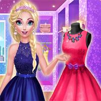 Free online flash games - Elsie Dream Dress game - Games2Dress