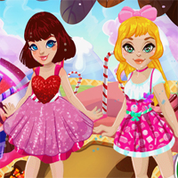 Free online flash games - Candy Land Dreams game - Games2Dress