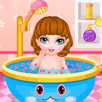 Free online flash games - Baby at the Spa game - Games2Dress