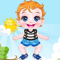 Free online flash games - Baby Birthday Photoshoot game - Games2Dress