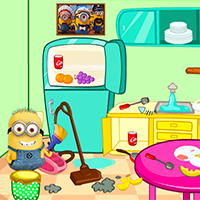 Free online flash games - Minions Clean game - Games2Dress