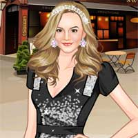 Free online flash games - Leighton Meester game - Games2Dress