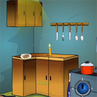 Free online flash games - GenieFunGames Kitchen Backyard Escape game - Games2Dress