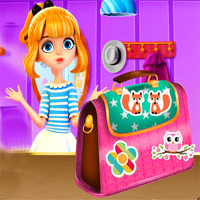 Free online flash games - Teen Girl Bag Decor game - Games2Dress