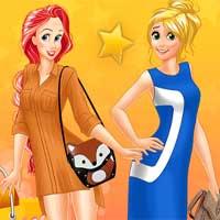 Free online flash games - Princesses Street Fashion Shopping game - Games2Dress