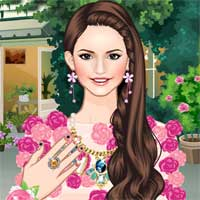 Free online flash games - Blooming Bouquet Makeover game - Games2Dress