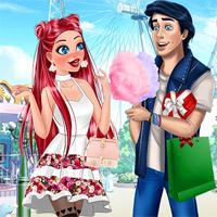 Free online flash games - Princesses Date Rush Cutezee game - Games2Dress