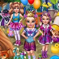 Free online flash games - Birthday Gift Hunt Girlstand game - Games2Dress