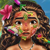 Free online flash games - Moana Skin Doctor game - Games2Dress