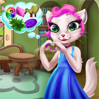 Free online flash games - Mias Stylish Room Witchhut game - Games2Dress