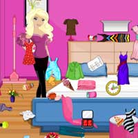 Free online flash games - Briar Bedroom Cleaning game - Games2Dress