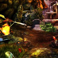Free online flash games - Mirchi Games Street Escape game - Games2Dress
