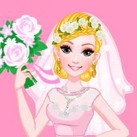 Free online flash games - Barbie Bridal Salon Makeover game - Games2Dress
