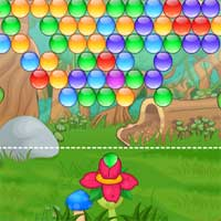 Free online flash games - Jungle Bubble game - Games2Dress