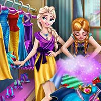 Free online flash games - Ice Kingdom Wardrobe Cleaning game - Games2Dress