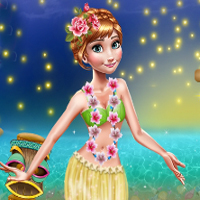 Free online flash games - Anna Hawaii Vacation game - Games2Dress