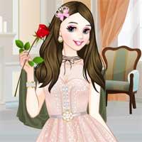 Free online flash games - Princesss V-Day game - Games2Dress