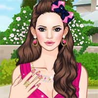 Free online flash games - Pink Addict Makeover game - Games2Dress