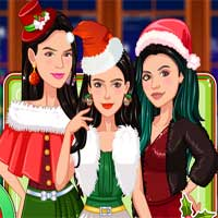 Free online flash games - Christmas with the Kardashians game - Games2Dress