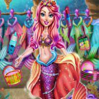 Free online flash games - Mermaid Spring Look game - Games2Dress